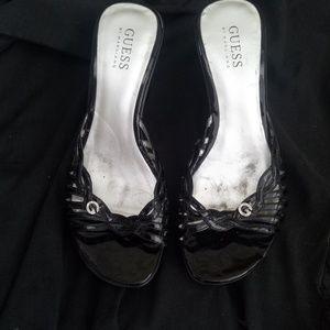 Guess platform Sandals Size 7.5